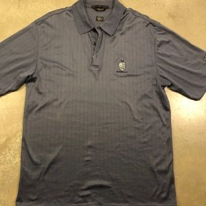 Tiger Woods Nike Golf Polo Grey